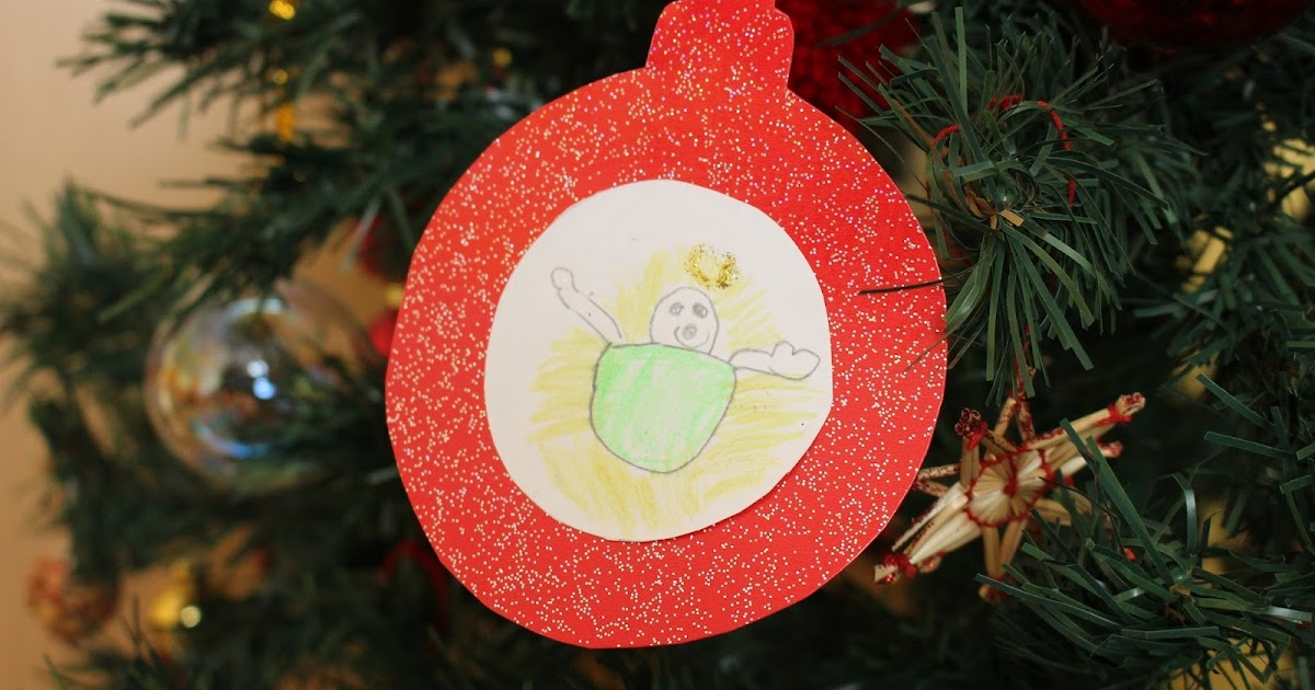 Kreattiva Lavoretti Di Natale.Mamma Gioca Palla Di Natale Con Gesu Bambino Da Usare Anche Come Biglietto O Chiudi Pacco