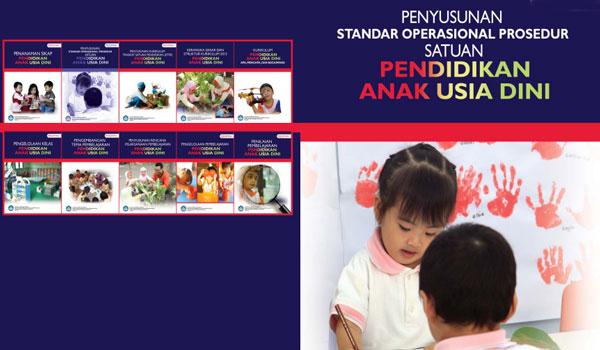 Download Buku Panduan Penyusunan SOP PAUD TK RA Terbaru