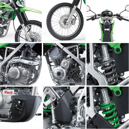 Gambar Kawasaki KLX 150 terbaru 2015