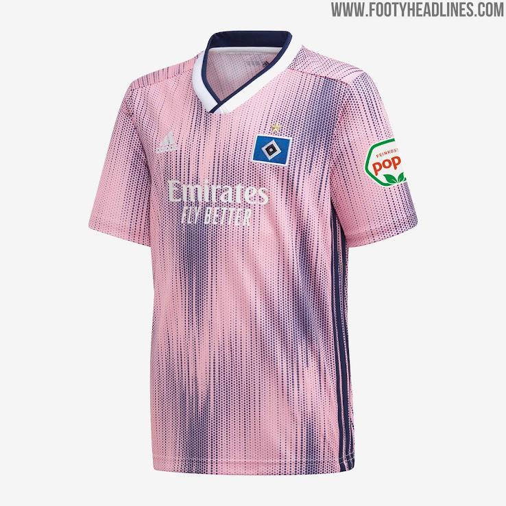 HSV 19 20 Auswärtstrikot Veröffentlicht Nur Fussball