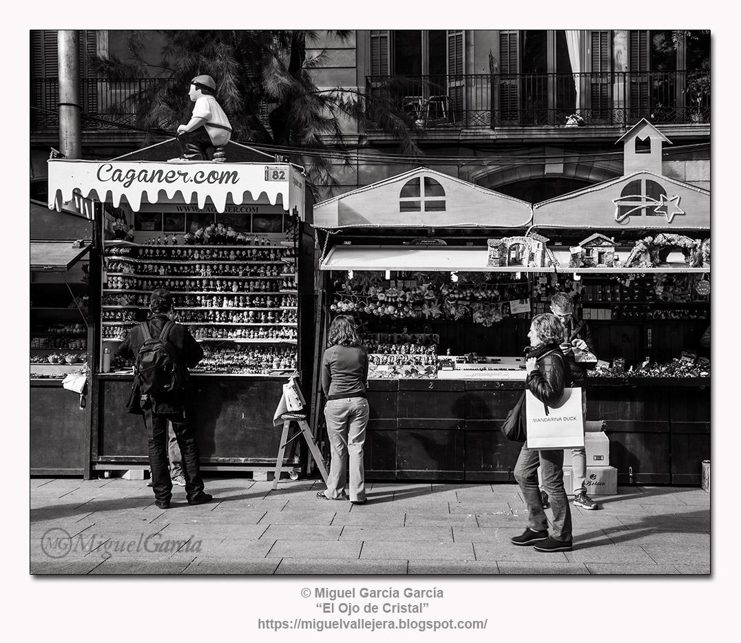 Barcelona,- El Caganer,