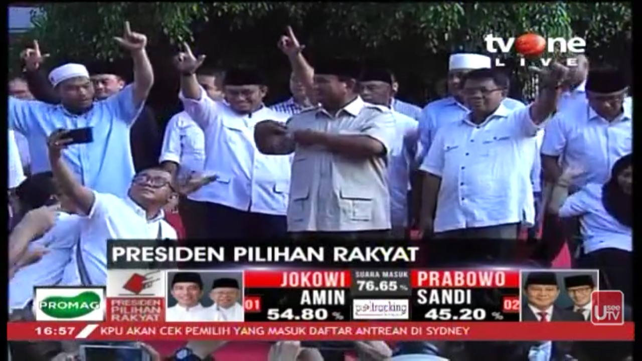 Tolak Klaim Kemenangan Jokowi