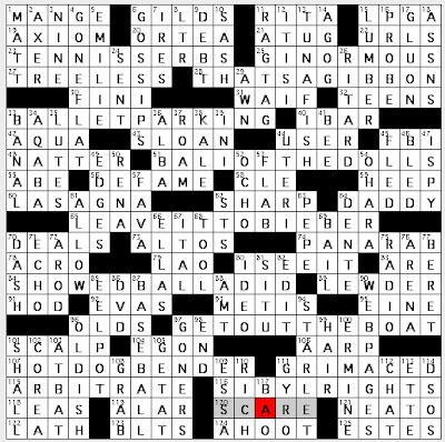 Rex Parker Does the NYT Crossword Puzzle: Ghostbuster ...