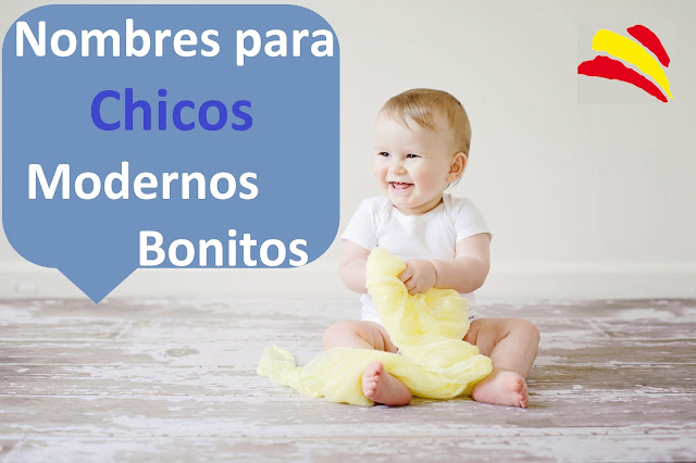 bebes nombres niños chicos modernos famosos populares bonitos cortos tendencia españa