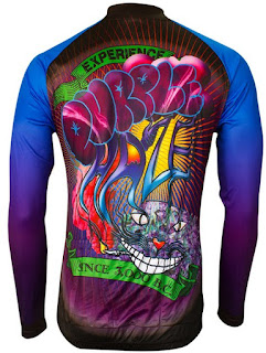 Purple Haze Long-Sleeve Cycling Jersey