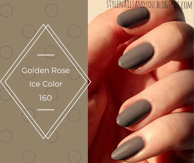 Golden Rose Ice Color 160