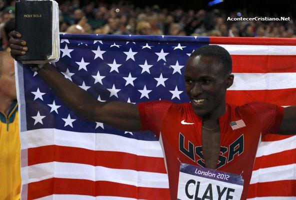 Atleta Will Claye gana medalla en Juegos Olímpicos de Londres 2012