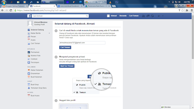 Cara Membuat Facebook Terbaru 2015 (Beserta Gambar)