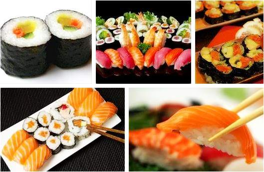 Wie viele Kalorien hat Sushi
