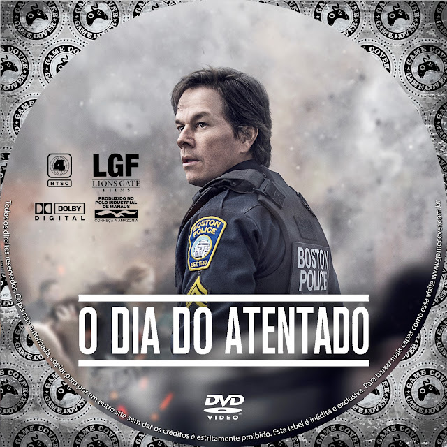 Label DVD O Dia Do Atentado [Exclusiva]