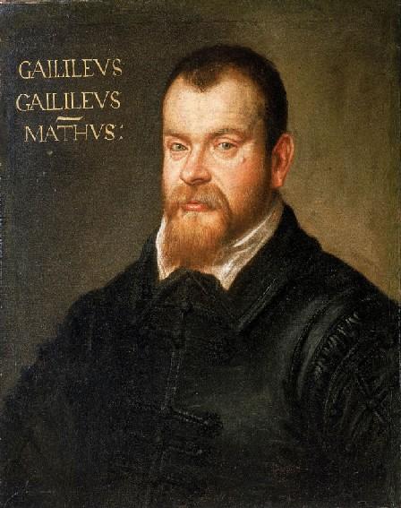 ritratto di galileo galilei realizzato dal tintoretto