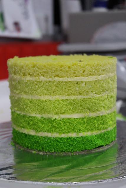 Rainbow Ombre Cakes