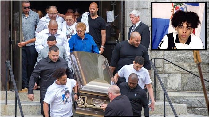 Cientos despiden restos de estudiante dominicano muerto en explosiones de Lawrence
