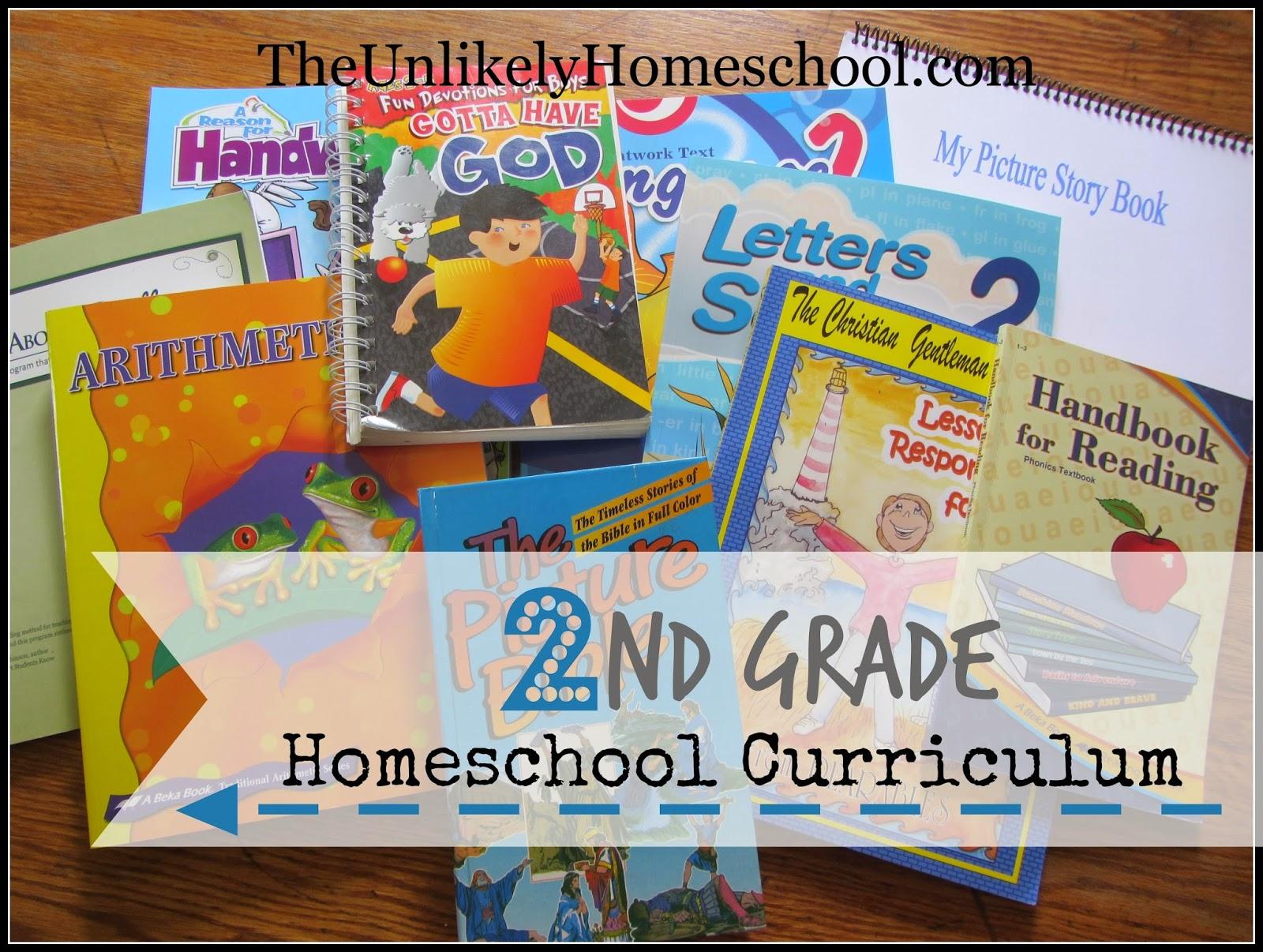 The Unlikely Homeschool 2nd Grade Homeschool Curriculum