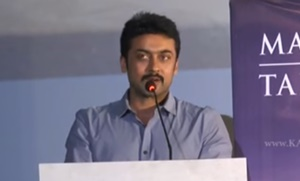 I never expected this from Karthi, says Suriya | Kaatru Veliyidai Audio Launch