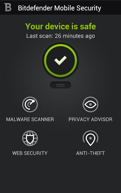 تحميل برنامج بت ديفندر Bitdefender Mobile Security 2017 لحماية الموبايل من الفيروسات