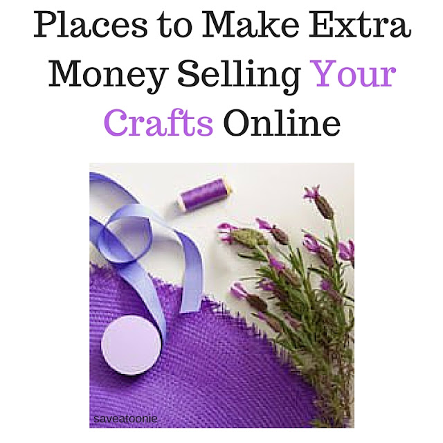 Make extra money selling crafts online