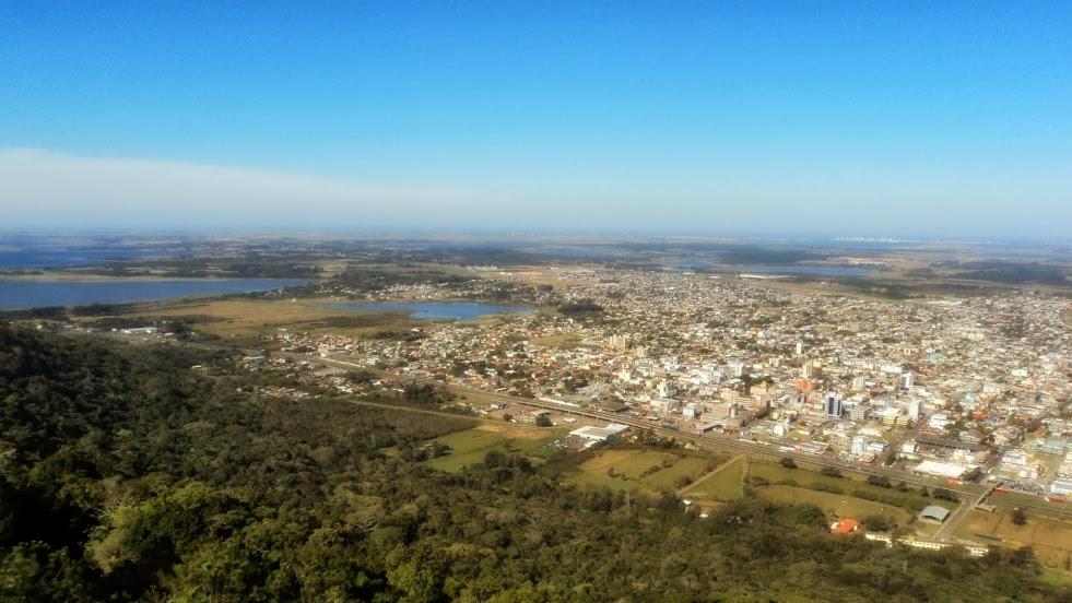 Lagoa do Peixoto, Lagoa do Marcelino e O Centro da Cidade de Osório
