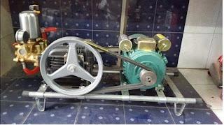 Máy rửa xe áp lực cao NK54