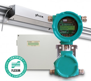 clamp on ultrasonic flowmeter with control unit SIL 2 rating