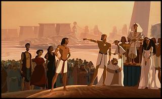 El príncipe de Egipto, película sobre Moisés de DreamWorks