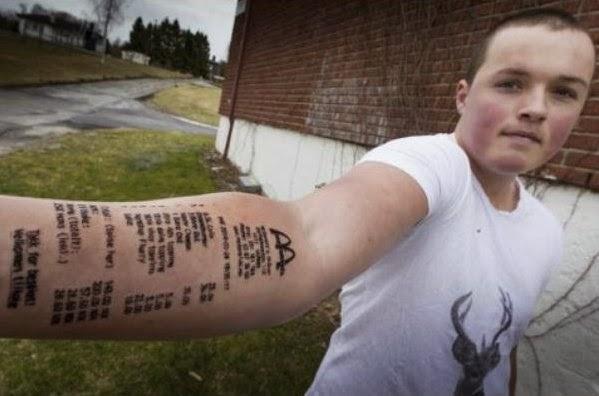 Los peores tatuajes