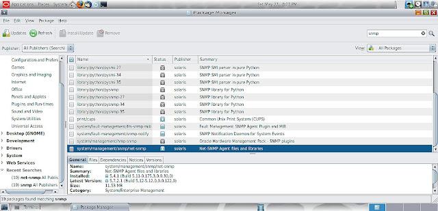 Supratim Sanyal's Blog: Solaris 11.3 SNMP daemon agent net-snmp