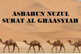 Makna Surat Al-Ghaasyiah, Asal Kata dan Asbabun Nuzulnya.