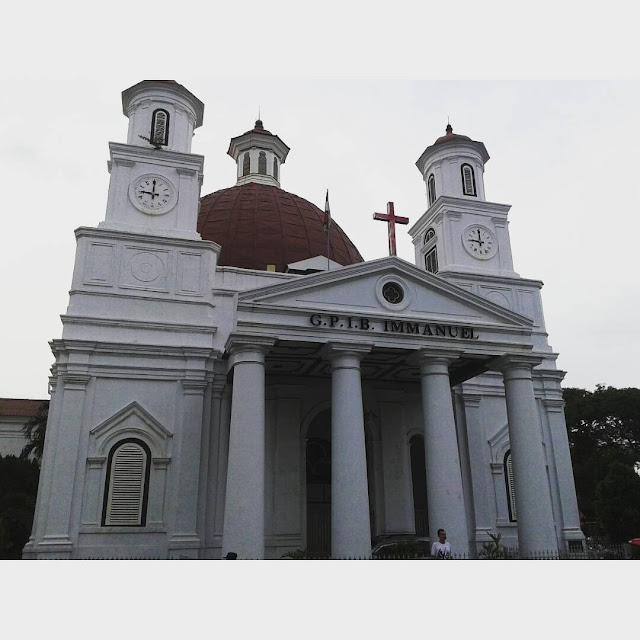 foto gereja blenduk semarang