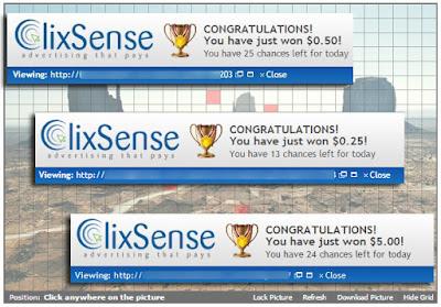 clixgrid clixsense prize prémio