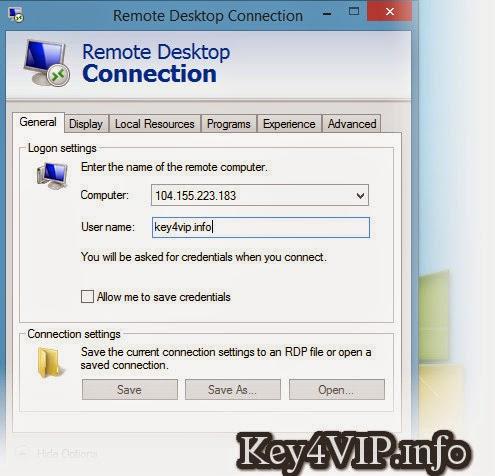 remote desktop windows 2012 r2