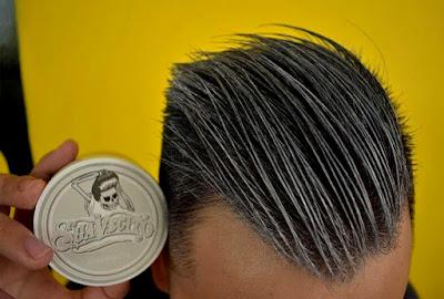 Suavecito Pomade Wax Rambut Warna - Silver