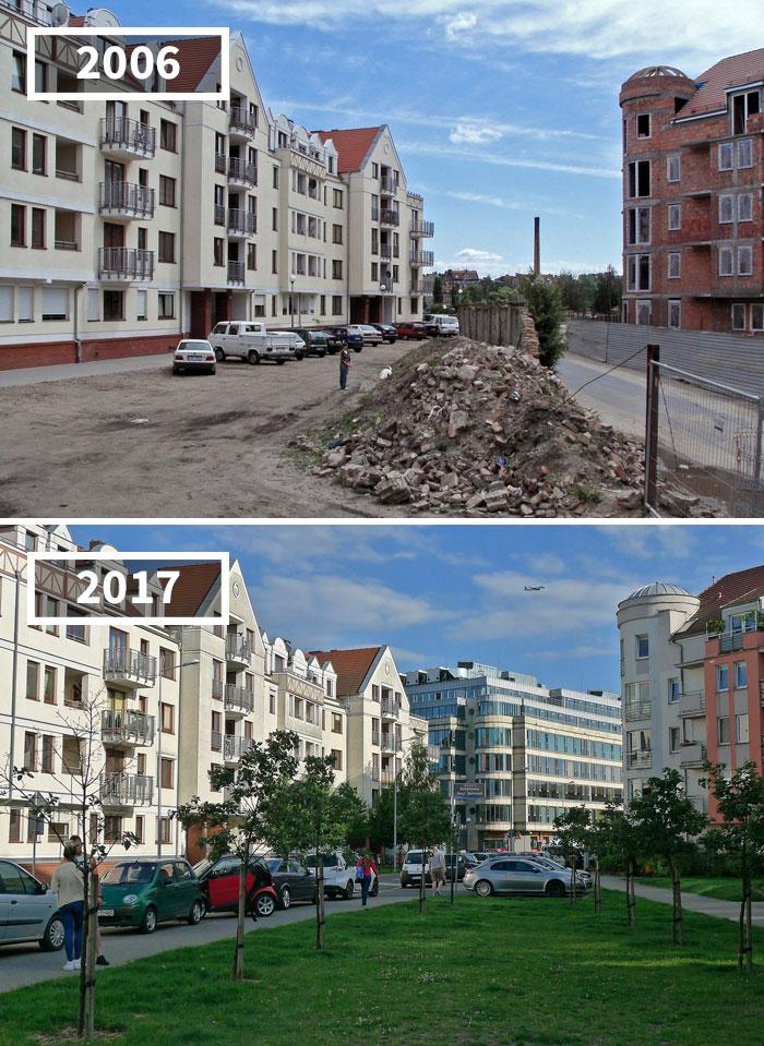 Szyperska Street, Poznań, Poland, 2006 - 2017
