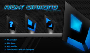 night diamond mouse cursor