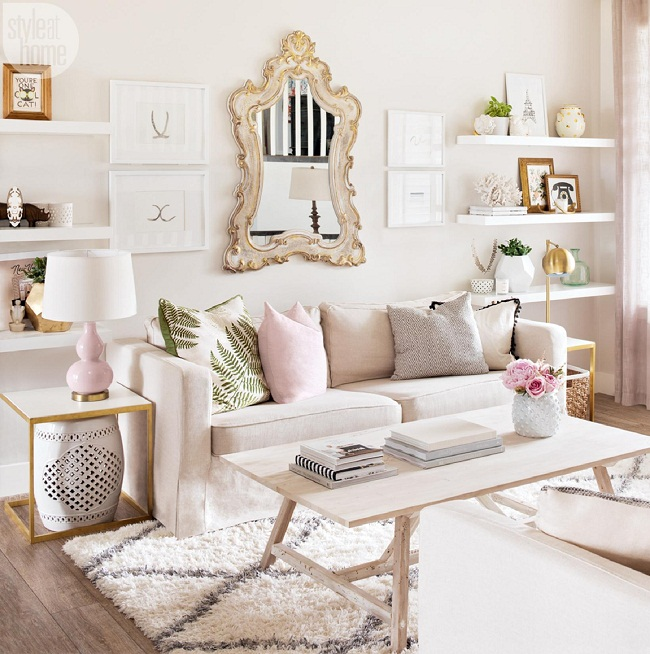 A Lifestyle Bloggers Effortlessly Chic And Beautiful Alberta Home