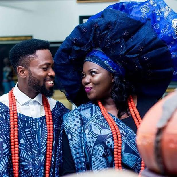 Photo Gallery Nigerian Wedding: Photos: Nigerian Bride-to-be Rocks Huge Gele For Her Pre