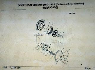 Komatsu Part Book D65PX-12 Bulldozer