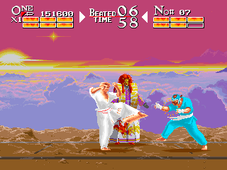 Karate Chakun Yaraku Shanku: The Karate Tournament+arcade+game+portable+videojuego+descargar gratis