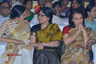 Actress Vimala Raman Stills in White Silk Saree at Om Namo Venkatesaya Audio Launch Event  0021.JPG