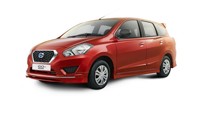 Datsun Go+ Ruby Red