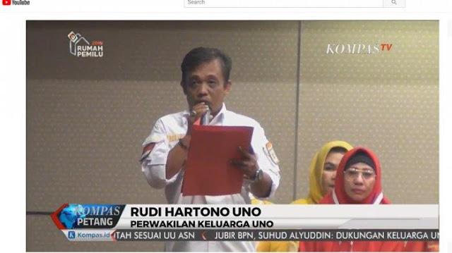 Keluarga Uno yang Dukung Jokowi Ternyata Caleg Hanura