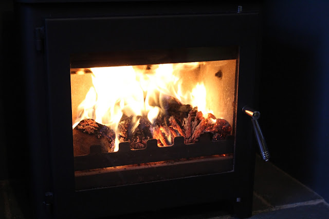 log burner heat logs