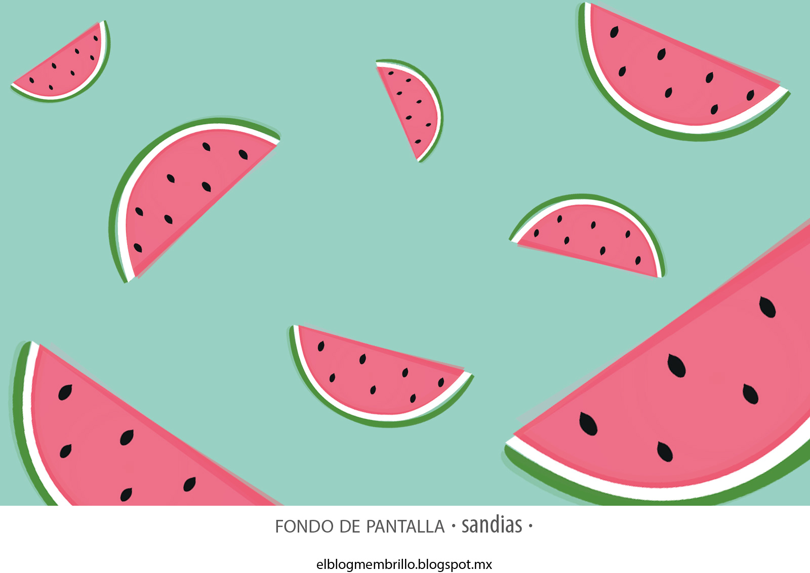 Imagenes De Sandias Para Fondo De Pantalla: El Blog Membrillo