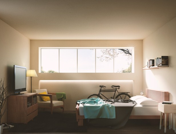 tempat tidur rumah minimalis