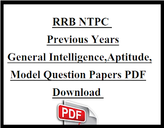 RRB NTPC Previous Papers PDF