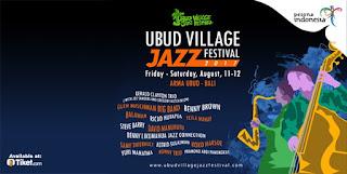 cari tiket murah event ubud village jazz festival