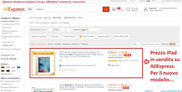 Opinioni aliexpress.com recensione e commenti