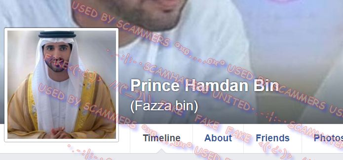 ScamHaters United Ltd: PRINCE HAMDAN FAZZA MOHAMMED    THE