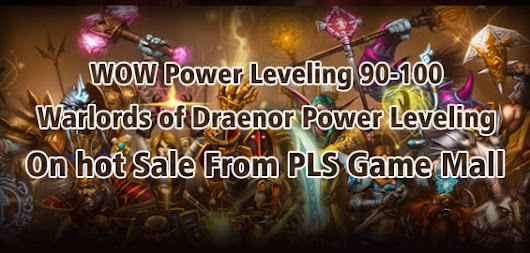 WOW Power Leveling is live and, well, in progress, so be sure to check it and follow along
