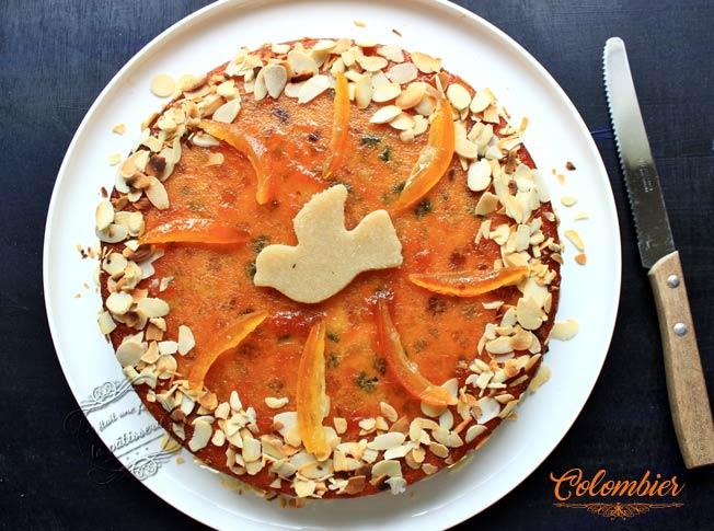 Gâteau Colombier De Pentecôte Il était Une Fois La Pâtisserie